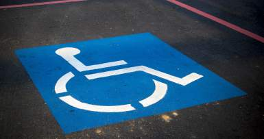 DMV With Disabled Parking in